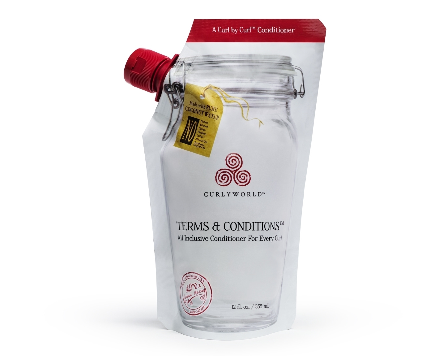 Terms & Conditions™ is a hyper-hydrating conditioner